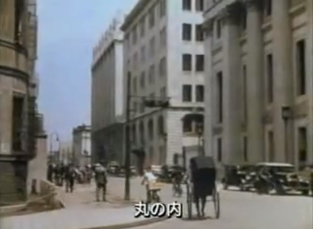 1935年の東京の貴重なカラー映像(動画)- ネタサイトZ